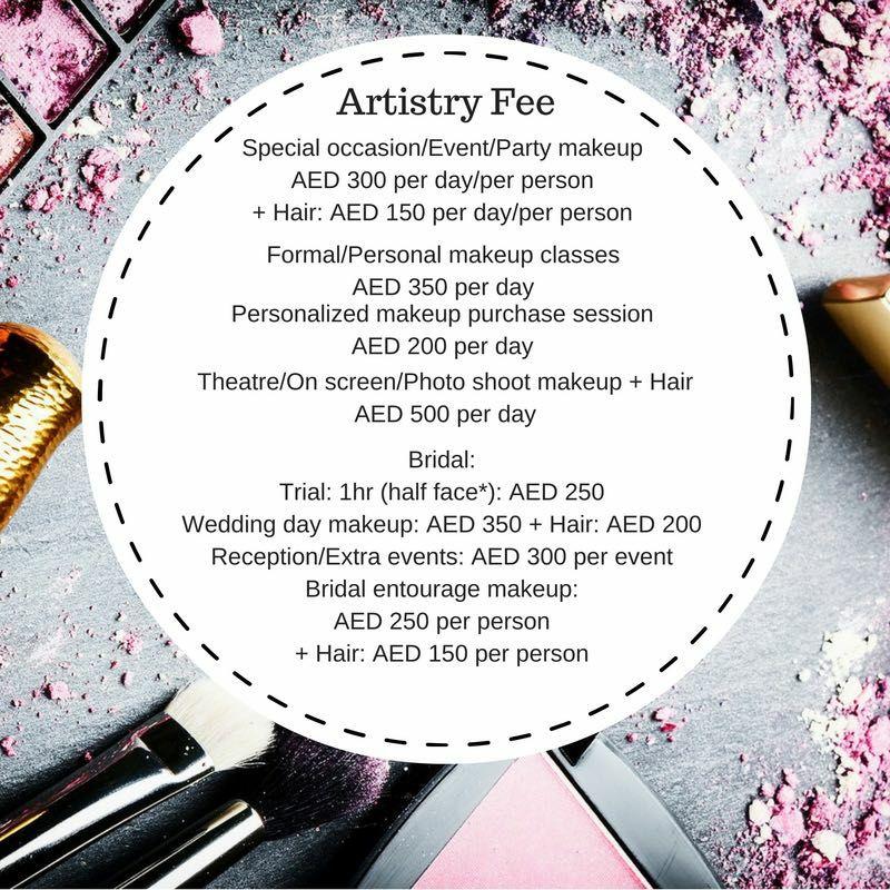 makeup-menu